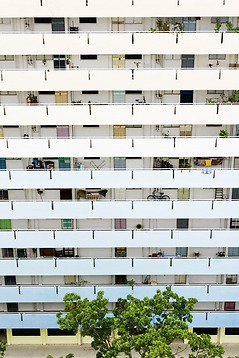 HDB blocks (Image courtesy of the Singapore Tourism Board)